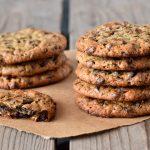 עוגיות שוקולד צ'יפס ללא קמח