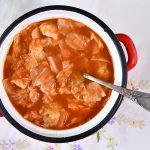 תבשיל כרוב ברוטב עגבניות