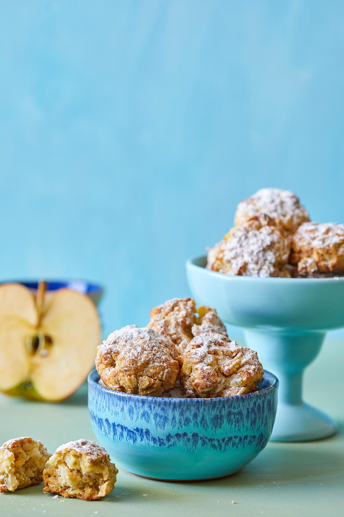 עוגיות שיבולת שועל ותפוחים. צילום: טל סיון צפורין